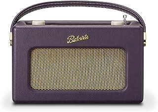 Roberts Radio Retro DAB/DAB+ FM Wireless Portable Digital Bluetooth Radio Alexa Voice Controlled Smart Speaker Revival iSt...