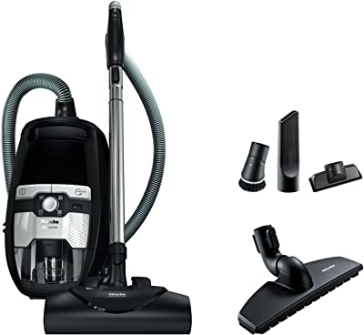 Miele Blizzard CX1 Electro & Bagless Canister Vacuum, Obsidian Black