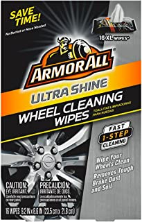 Armor All Ultra Shine Wheel Cleaning Wipes (16 count), , 1 Pack