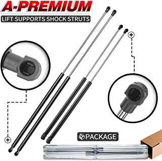 A-Premium Hood and Tailgate Rear Trunk Lift Supports Shock Struts for Volvo V40 2000-2004 Station Wagon 4-PC Set