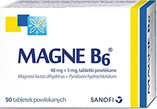 Magne-B6 50 tab nervousness, irritability,mild anxiety, hypomagnesemia, cramps