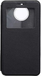 جراب فليب لموتورولا موتو G5S بلس ، اسود