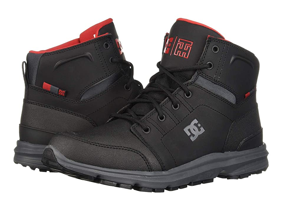 DC Torstein (Black/Grey/Red) Men