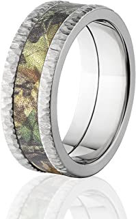 Mossy Oak Rings, Camo Wedding Rings, New Breakup Camo Bands