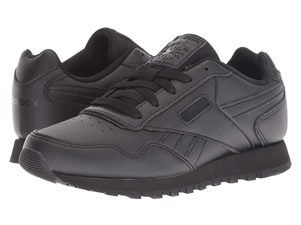 Reebok Kids CL Harman Run (Little Kid/Big Kid) (Black/Black) Kids Shoes