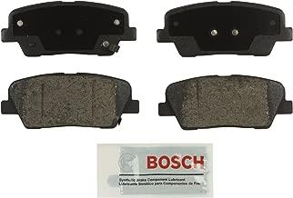 Bosch BE1284 Blue Disc Brake Pad Set for Select Hyundai Entourage, Equus, Genesis, Genesis Coupe, Santa Fe; Kia Borrego, Sedona, Sorento - REAR