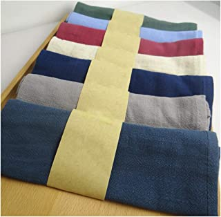 Bigfan 6Pcs/Lot Solid Colorful Table Napkin Home Textile Napkins Table Placemats Table Linen Cotton Fabric Tissue Kitchen Supplies,Solid