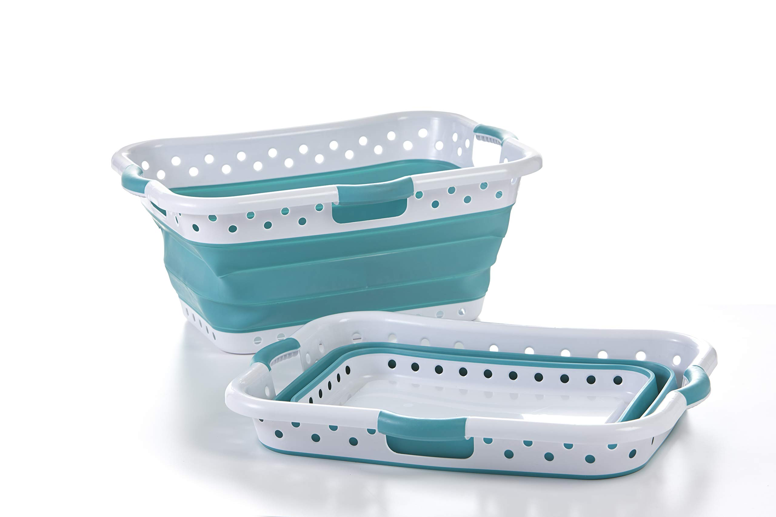 Pop Load Collapse Store laundry baskets