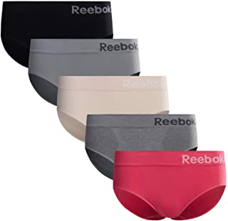 Reebok Womens Seamless Hipster Panties 5-Pack