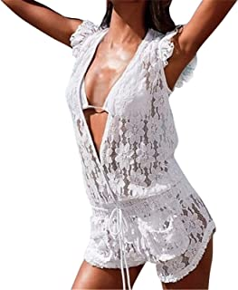 Best lace cover up romper Reviews