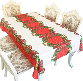 "Xmas tablecloths for Thanksgiving Christmas Celebration Dinner 55"" x 67"" (D)"