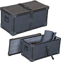 Head Amplifier 1/4 Ply Economy Tuffbox Light Duty Top Loading Road Case Fits Hughes & Kettner Triamp Mk2 Mkii