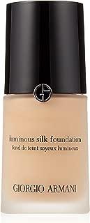 Giorgio Armani Luminous Silk Foundation, No. 4.5 Sand, 1 Ounce