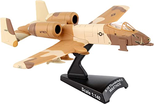 Daron Postage Stamp A-10 Warthog Peanut Scheme USAF Vehicle (1 140 Scale)