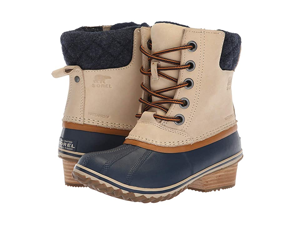 SOREL Slimpack II Lace (Oatmeal/Collegiate Navy Nubuck Leather) Women