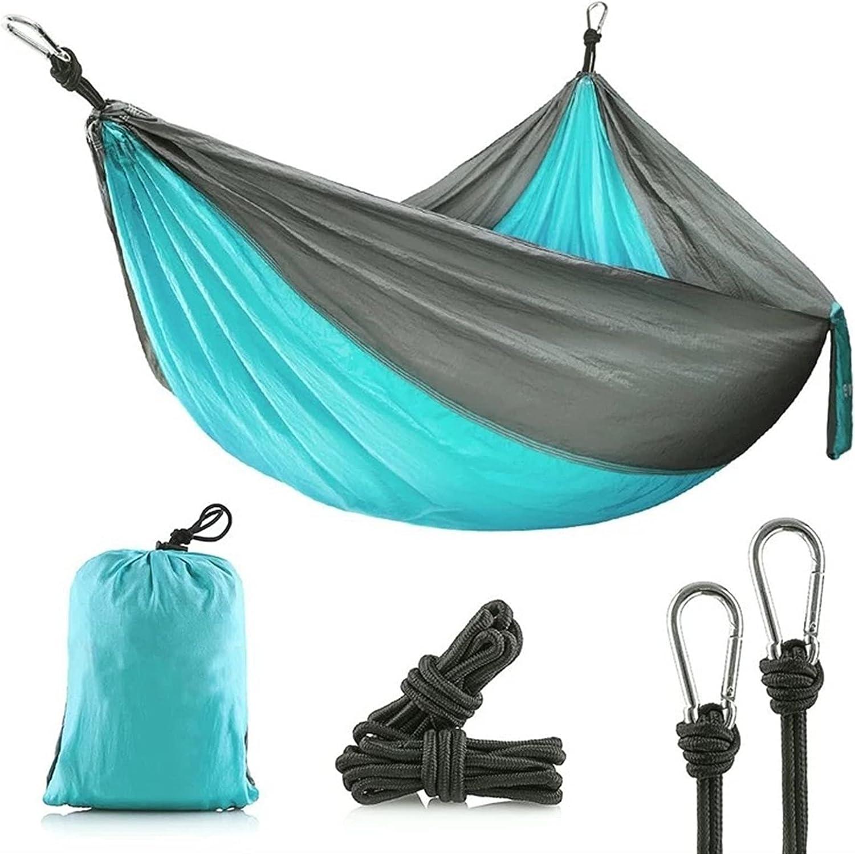 ZWDP Max 49% OFF Ranking TOP14 Camping Hammock Portable Nylon Set Parachute Suitab