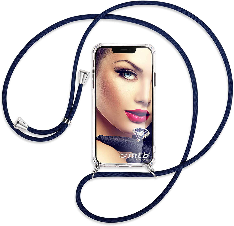 6.55 - Noir Coque pour Smartphone /à Porter au Cou Anti Shock Full TPU /Étui /à bandouli/ère Cordon mtb more energy/® Collier pour Nokia 5.3