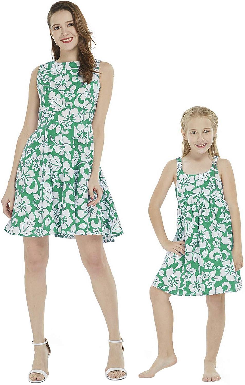 High order Matching Mother Daughter Hawaiian Luau Girl Dress C shipfree Women Outfit