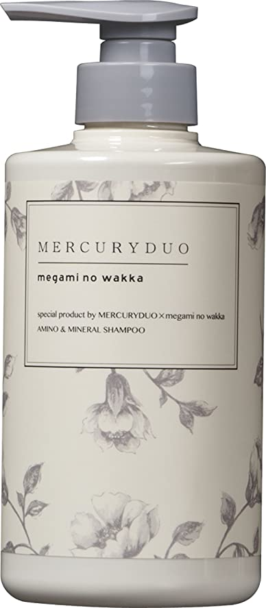 楽しませるプレゼンテーション資本主義シャンプーMERCURYDUO SHAMPOO シャンプー 480ml MERCURYDUO × megami no wakka (マーキュリーデュオ × 女神のわっか) special product シャンプー モイストタイプ
