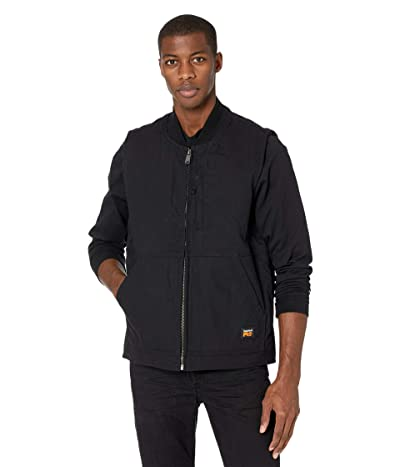 Timberland PRO Gritman Lined Canvas Vest (Jet Black) Men