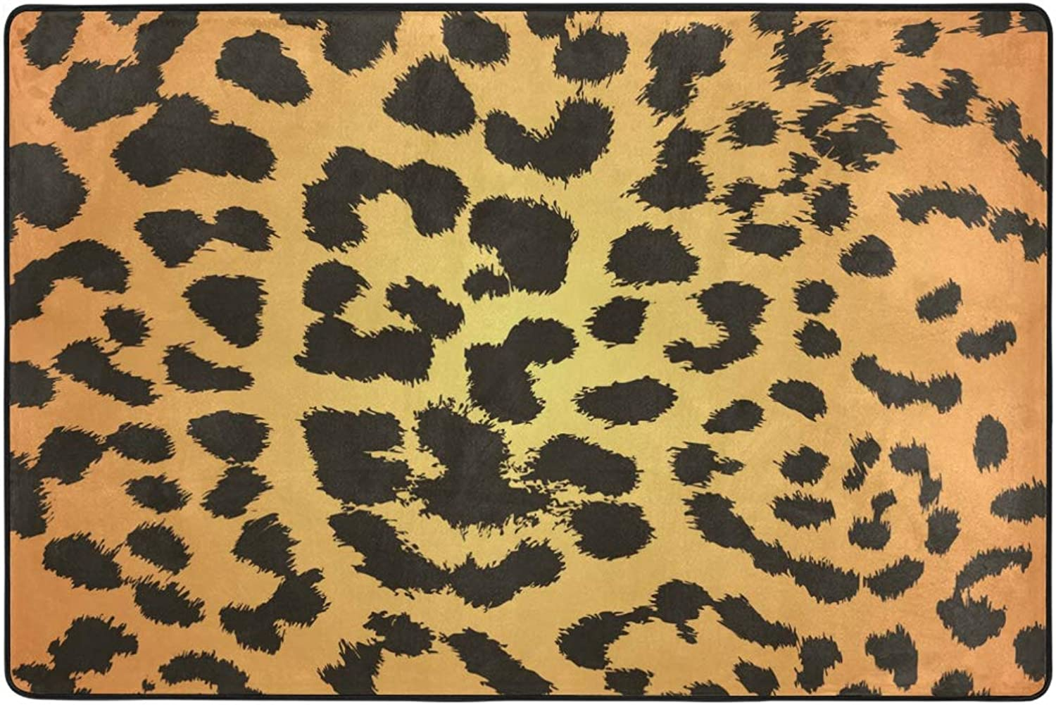 MONTOJ Particular Leopard Print Weathertech Floor mats Area Rugs for Living Room Bedroom Home Decoration Carpet Doormat Wearproof