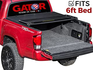 Gator ETX Soft Tri-Fold Truck Bed Tonneau Cover   59410   fits Toyota Tacoma 2016-19 (6 ft bed)