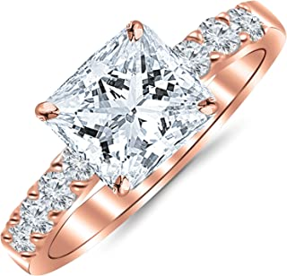 Best gold diamond rose ring Reviews