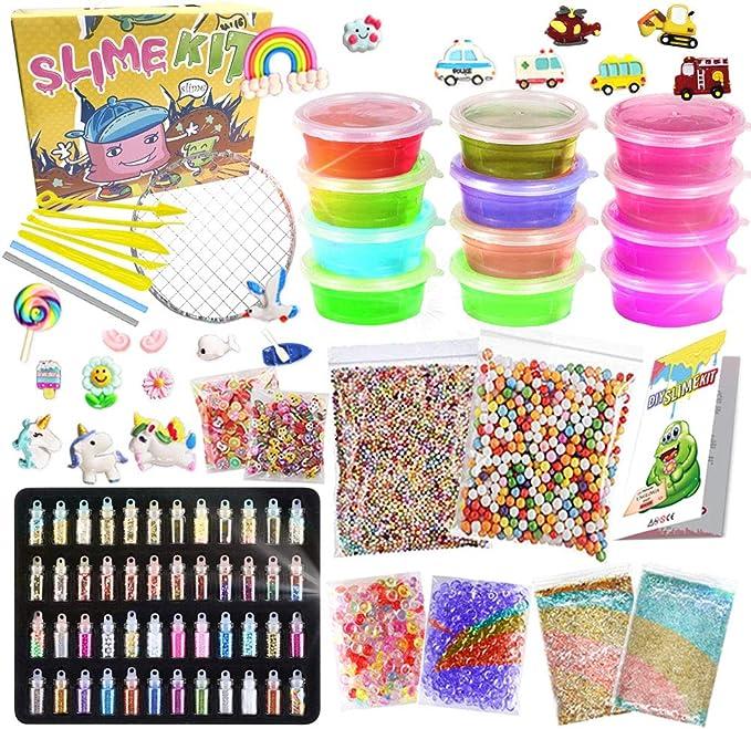 626 opinioni per UNGLINGA Slime Kit per Bambini Ragazze Ragazzi dai 6 Anni in su Giocattoli