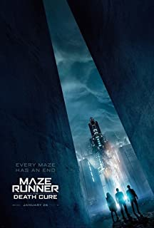 MAZE RUNNER THE DEATH CURE MOVIE POSTER 2 Sided ORIGINAL FINAL 27x40 DYLAN O'BRIEN