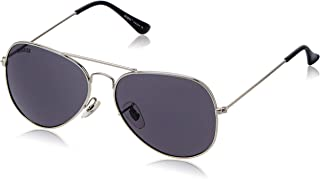 MTV Roadies Unisex Classical Aviator with 100% UV Blocking Shatterproof Polycarbonate Lens Sunglasses RD_111