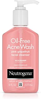 Neutrogena Acne Wash Pink Grapefruit 6 Ounce Pump (177ml)