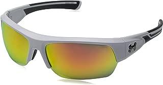 Under Armour Men's Big Shot 8600085-100941 Rectangular Sunglasses