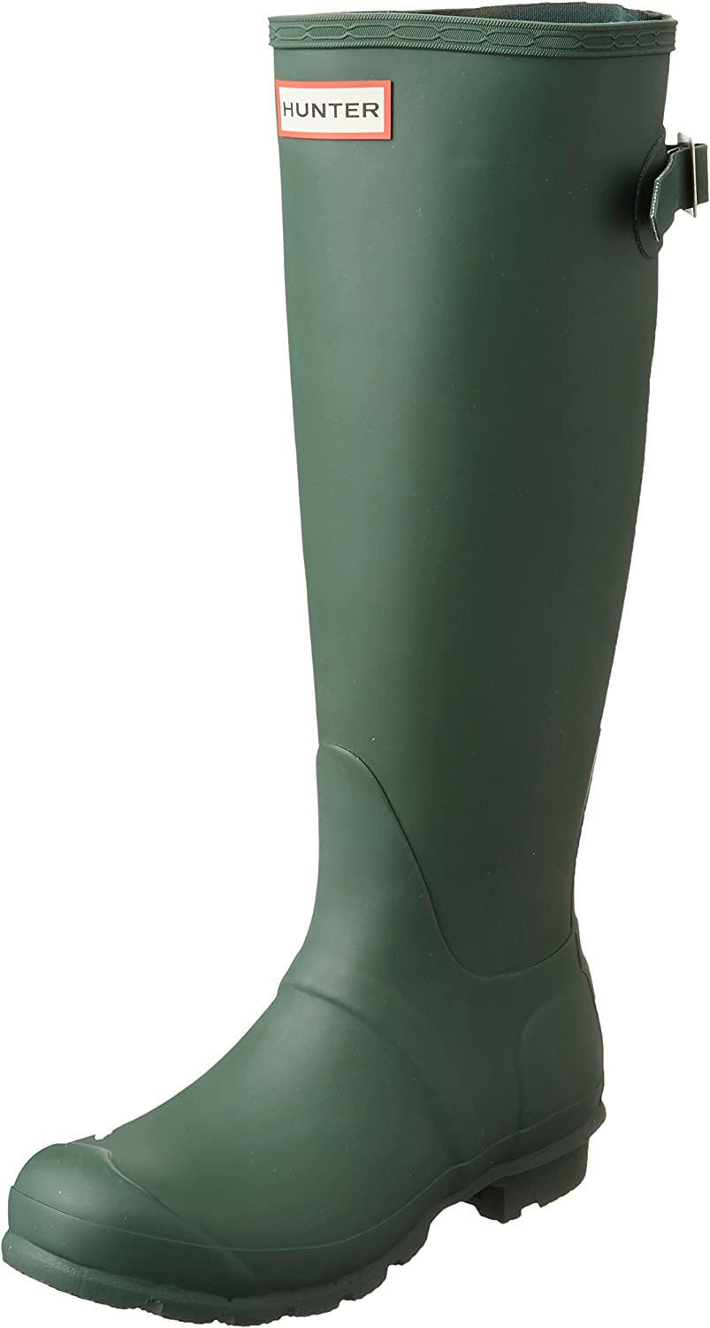 Hunter Boots Women's Original Back Adjustable Tall Rain Boot