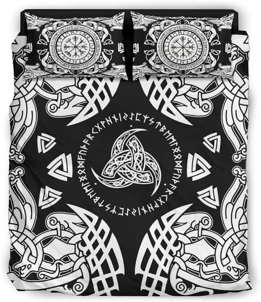 Bargain At the price of surprise sale Fzsdcyykic Duvet Covers Bedding 4 Piece Rune Power Set So Viking
