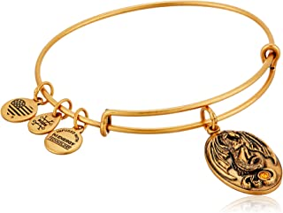 Alex and Ani Path of Symbols Dragon Expandable Wire Bangle Charm Bracelet