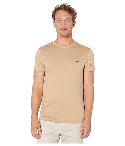 Lacoste Short-Sleeve Pima Jersey Crewneck T-Shirt (Viennese) Men