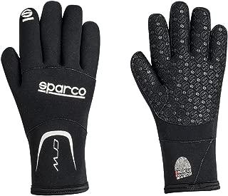 Sparco 00258NR1S Sparco- Kart Gloves, Crw Kart Black Sml 0KC17