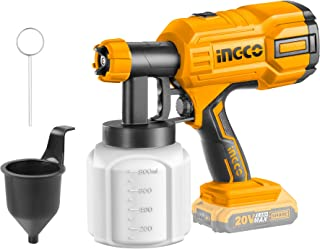 Sponsored Ad – INGCO Cordless Paint Sprayer (Battery and Charger not Included) Lithium-Ion Fence Paint Sprayer Electric Pa...