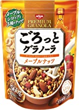 日清シスコ ごろっとグラノーラ メープルナッツ 360g ×6袋