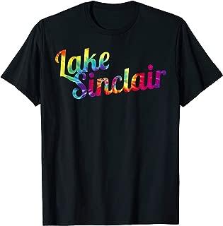 Lake Country Apparel | Lake Sinclair Tie Dye Design T-shirt