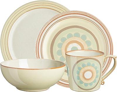 Denby Heritage Veranda Mix & Match 4 pc Dinnerware Set, One size, yellow