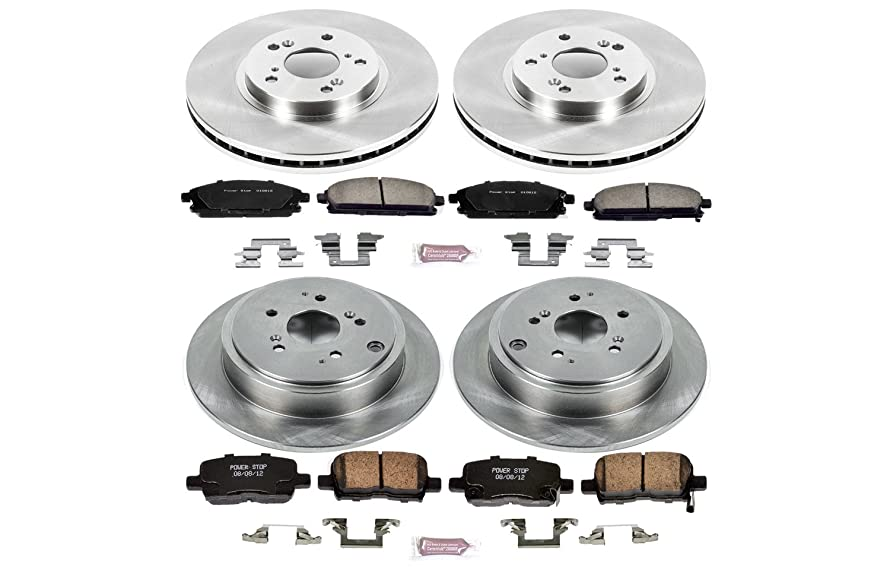 Autospecialty KOE2291 1-Click OE Replacement Brake Kit