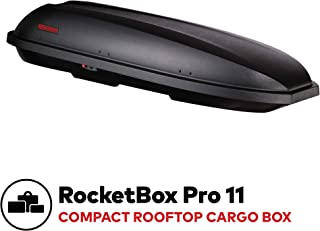 YAKIMA - RocketBox Pro, Multi-Sport Rooftop Cargo Box for Cars, Wagons and SUVs, 11 (adds 11 Cubic ft. of Storage)