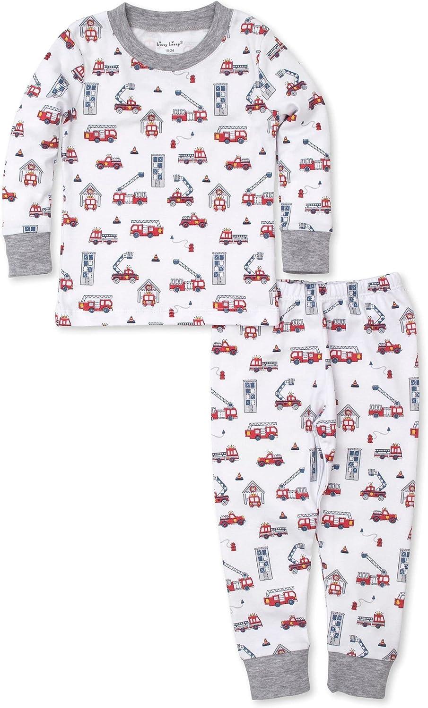 Kissy Kissy Baby-Boys Infant Pajamas Rapid Rescue Print Long Pajamas Set