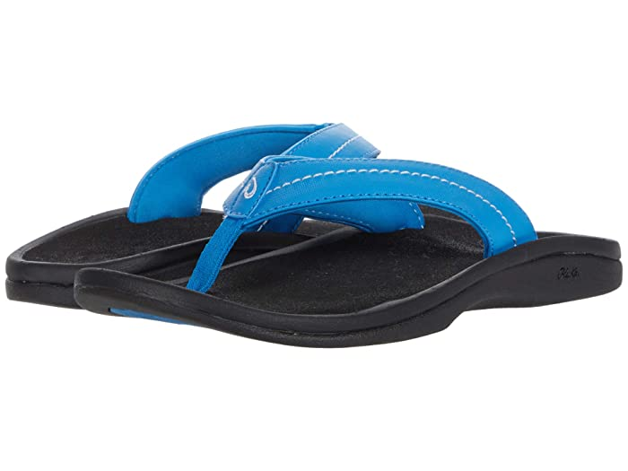 Ohana W  Shoes (Ocean Blue/Black) Women's Sandals