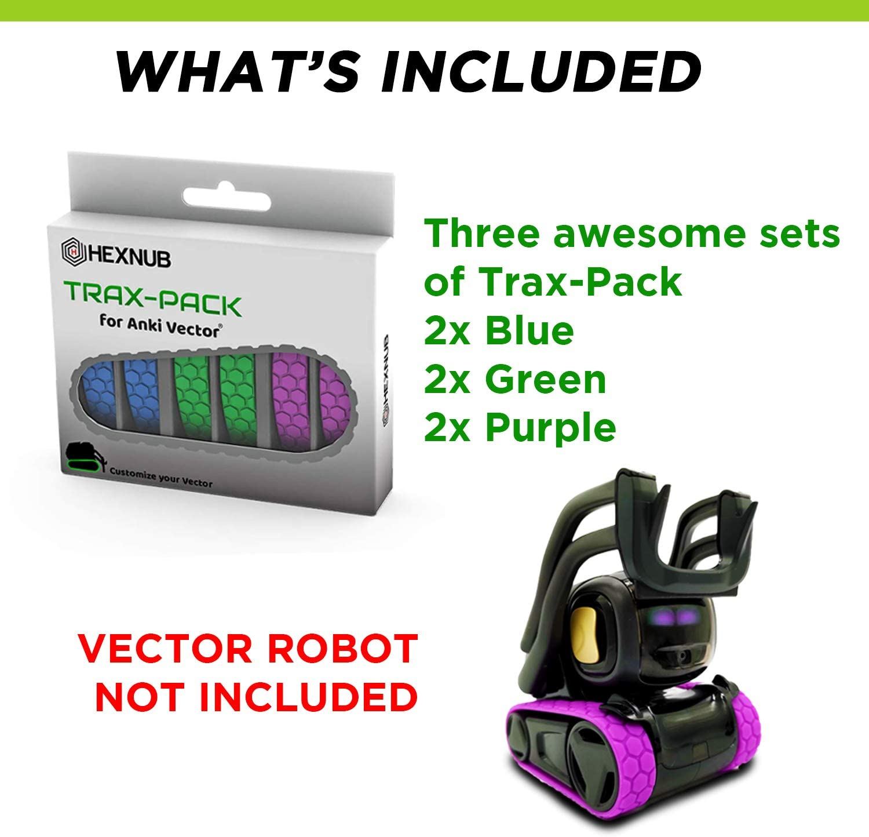 Hexnub Anki Vector Trax Pack Accessoire – Personalisieren Sie ...