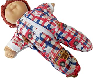 Cabbage Patch KIDS 16 inch BOY Doll Clothes Flag Flannel Pajamas and Hat