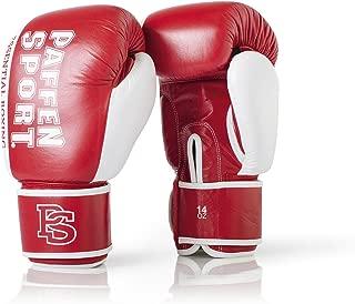 Kickboxing K1 et Autres Arts Martiaux Muay Tha/ï Paffen Sport /«Allround ECO/» Gants de Boxe en Cuir et Cuir synth/étique pour l/'entra/înement en Boxe