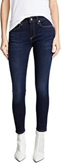 Rag and Bone Women's Cate Mid-Rise Ankle Skinny Jeans Blue