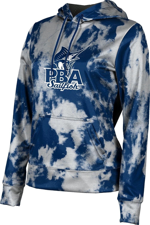 Palm Beach Atlantic University Girls' Pullover Hoodie, School Spirit Sweatshirt (Grunge)
